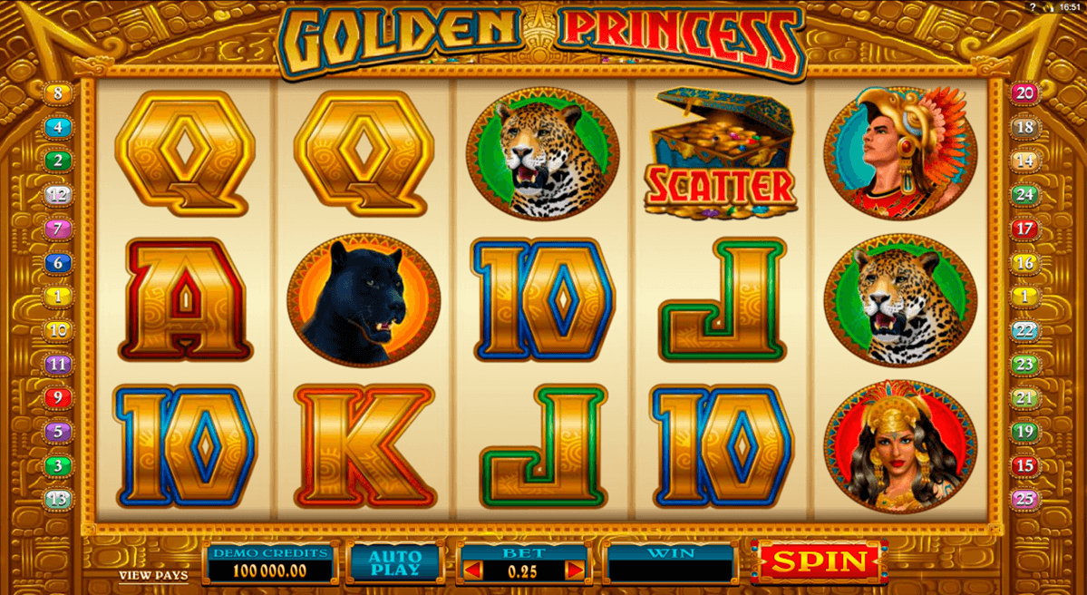 golden princess microgaming casino gokkasten