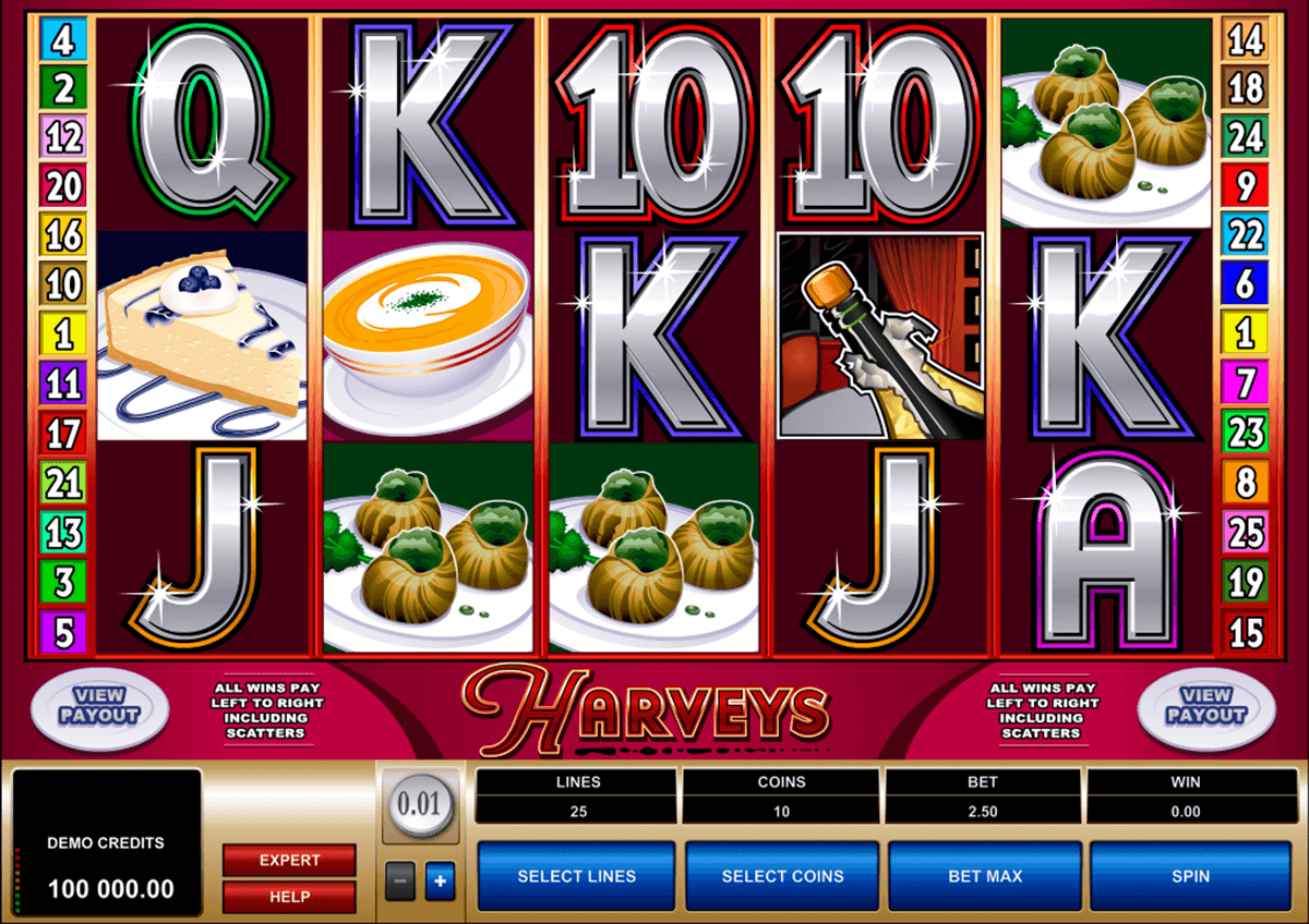 harveys microgaming casino gokkasten