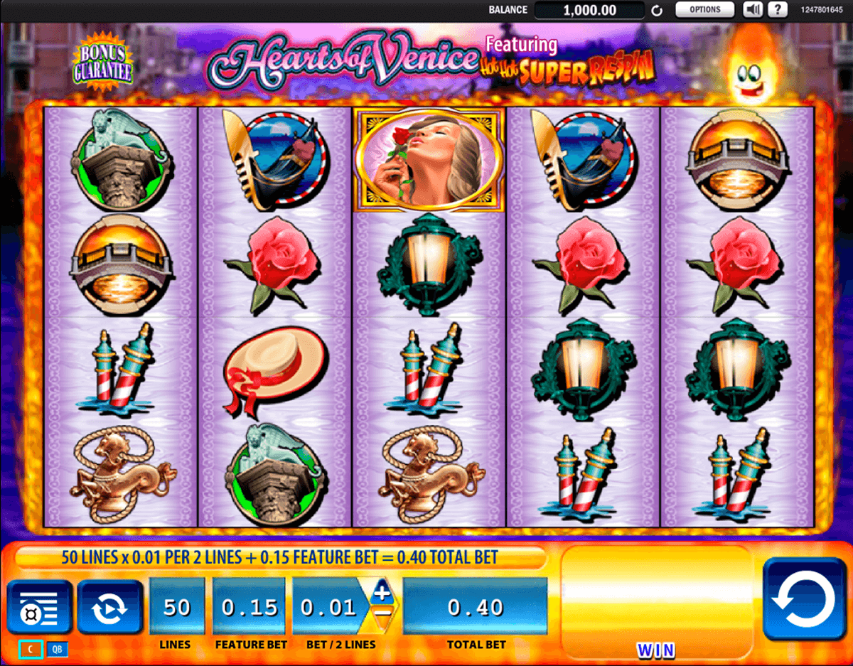 hearts of venice wms casino gokkasten