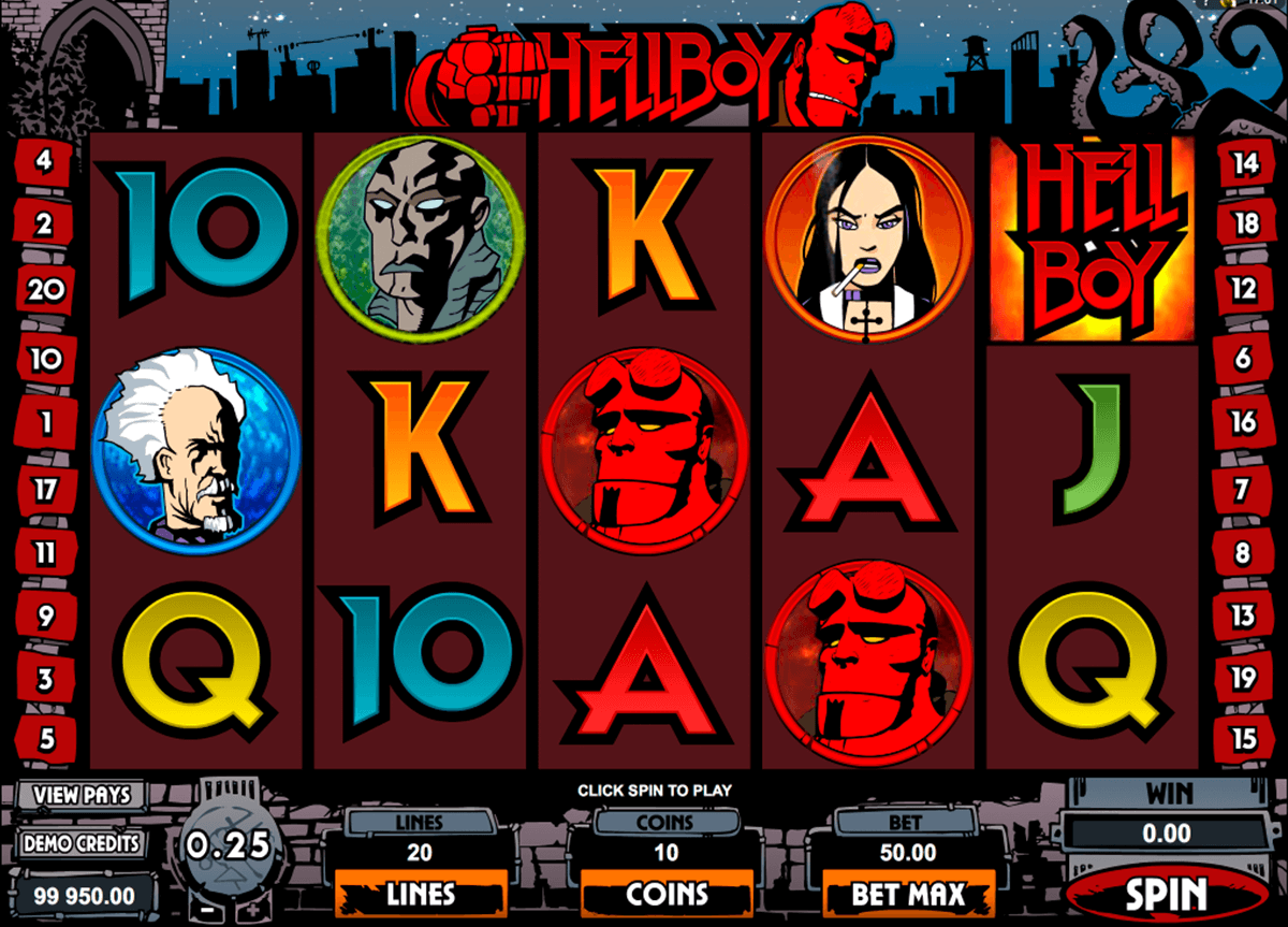 hellboy microgaming casino gokkasten