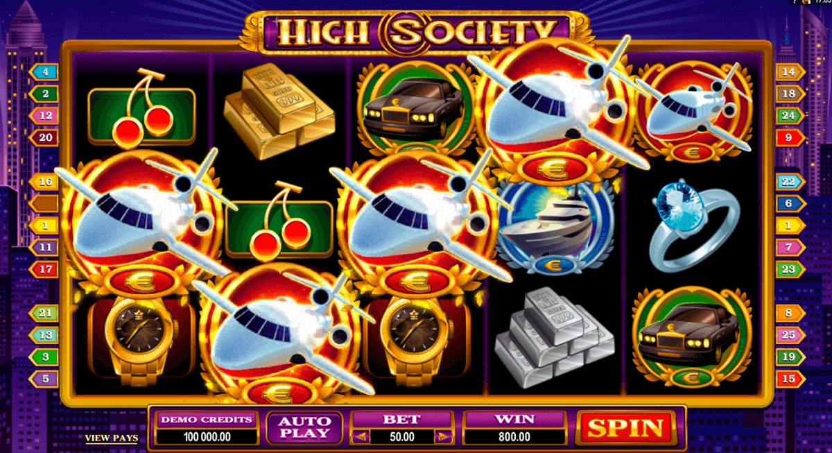 high society microgaming casino gokkasten