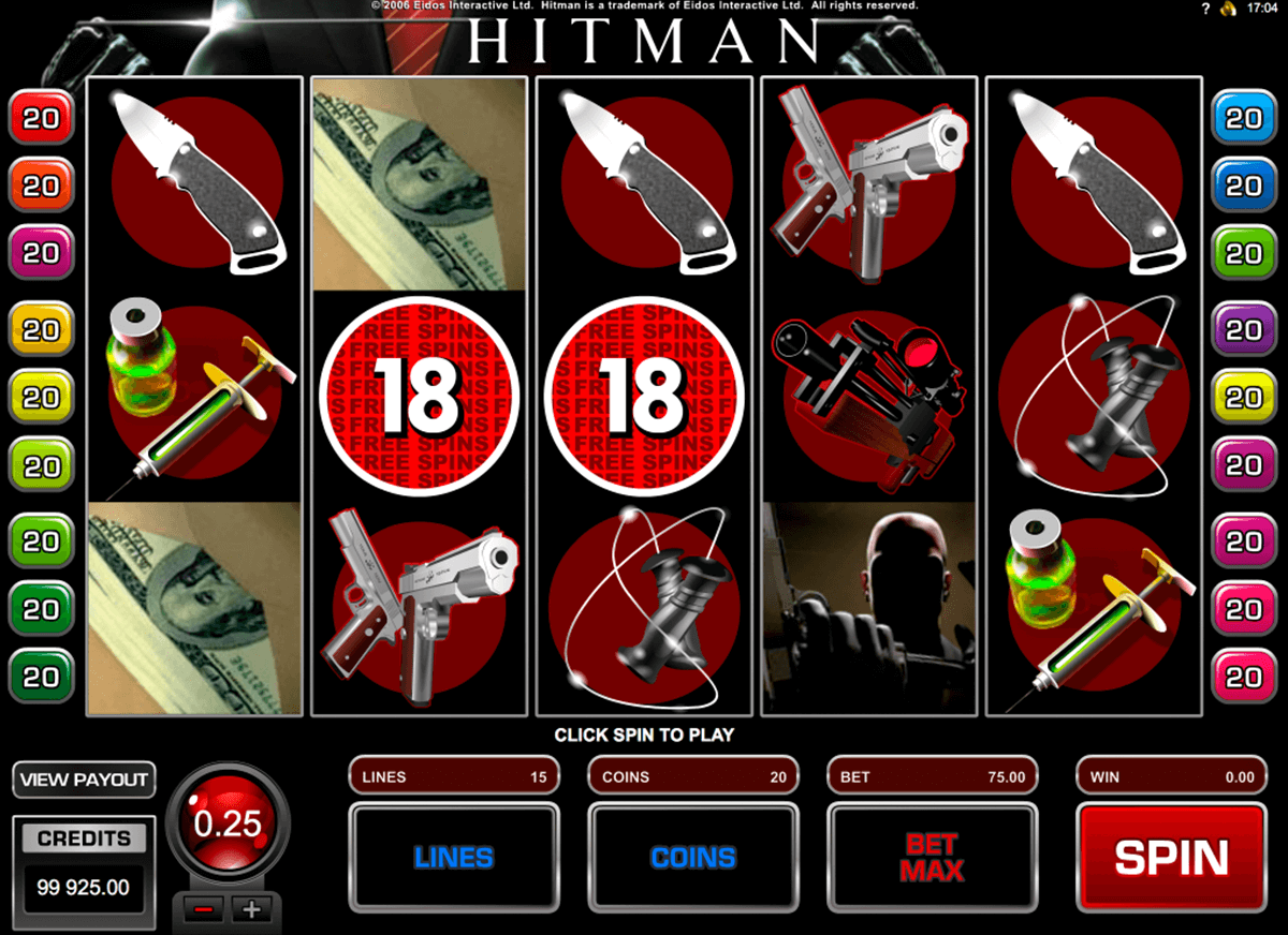 hitman microgaming casino gokkasten