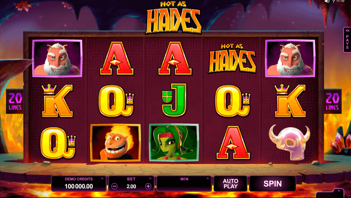 hot as hades microgaming casino gokkasten