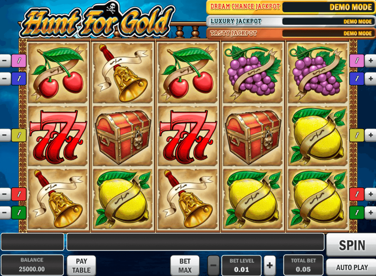 hunt for gold playn go casino gokkasten