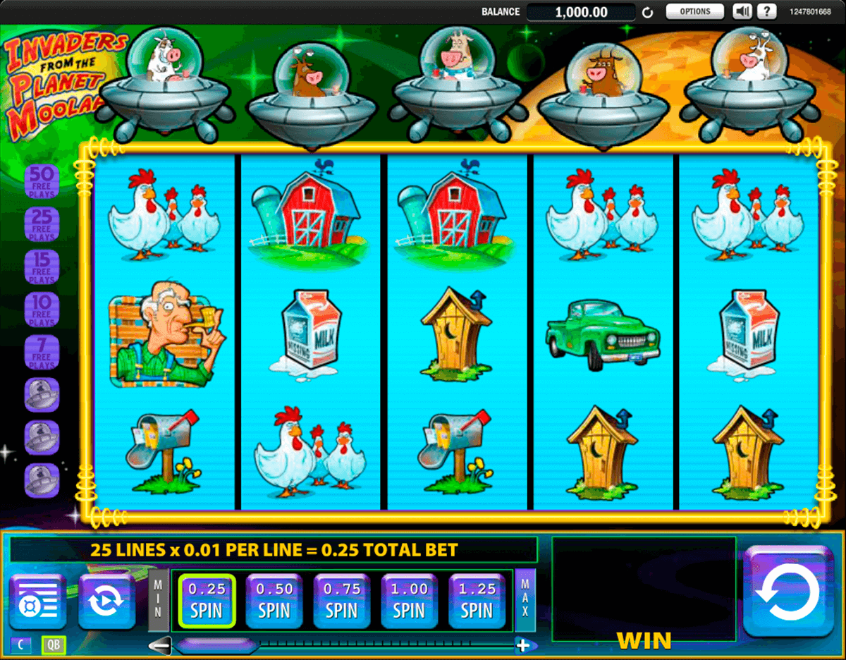 invaders from the planet moolah wms casino gokkasten