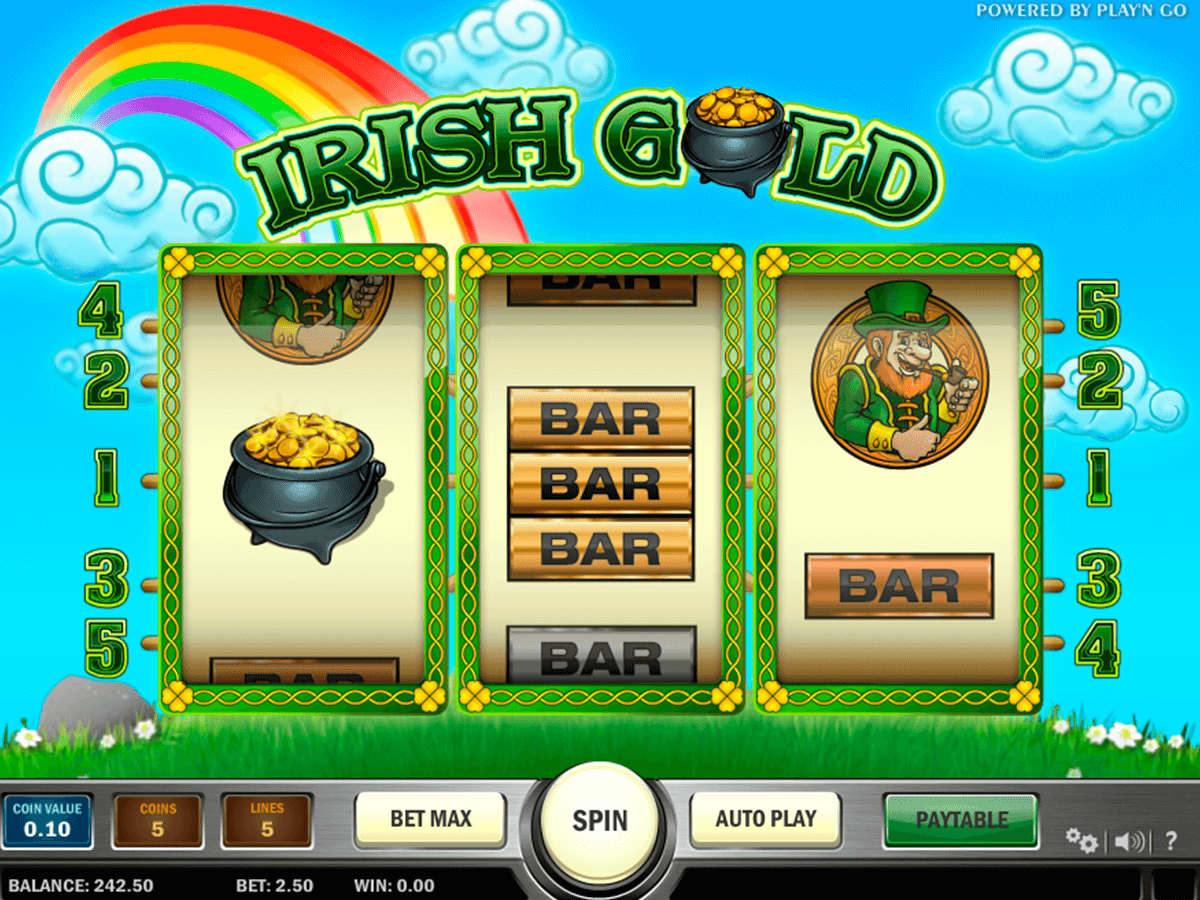 irish gold playn go casino gokkasten