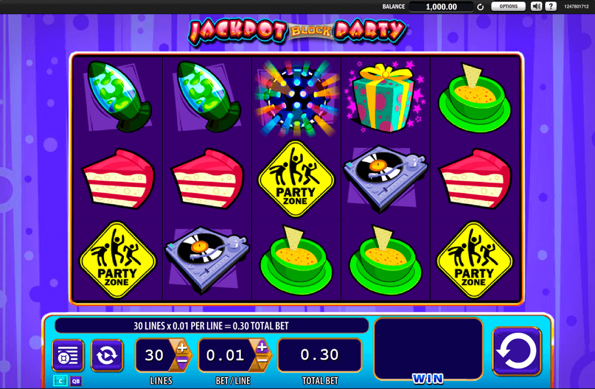 jackpot block party wms casino gokkasten
