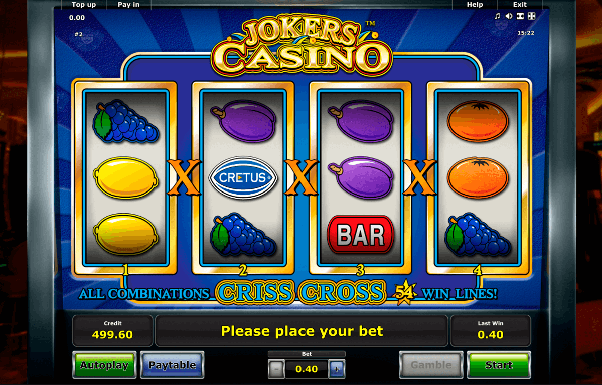jokers casino novomatic casino gokkasten