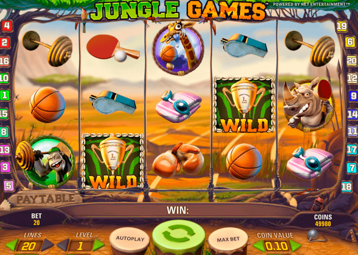 jungle games netent casino gokkasten