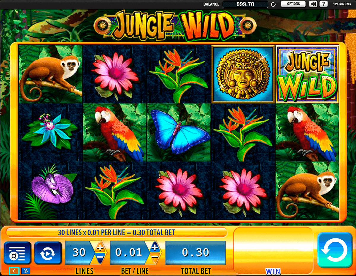 jungle wild wms casino gokkasten
