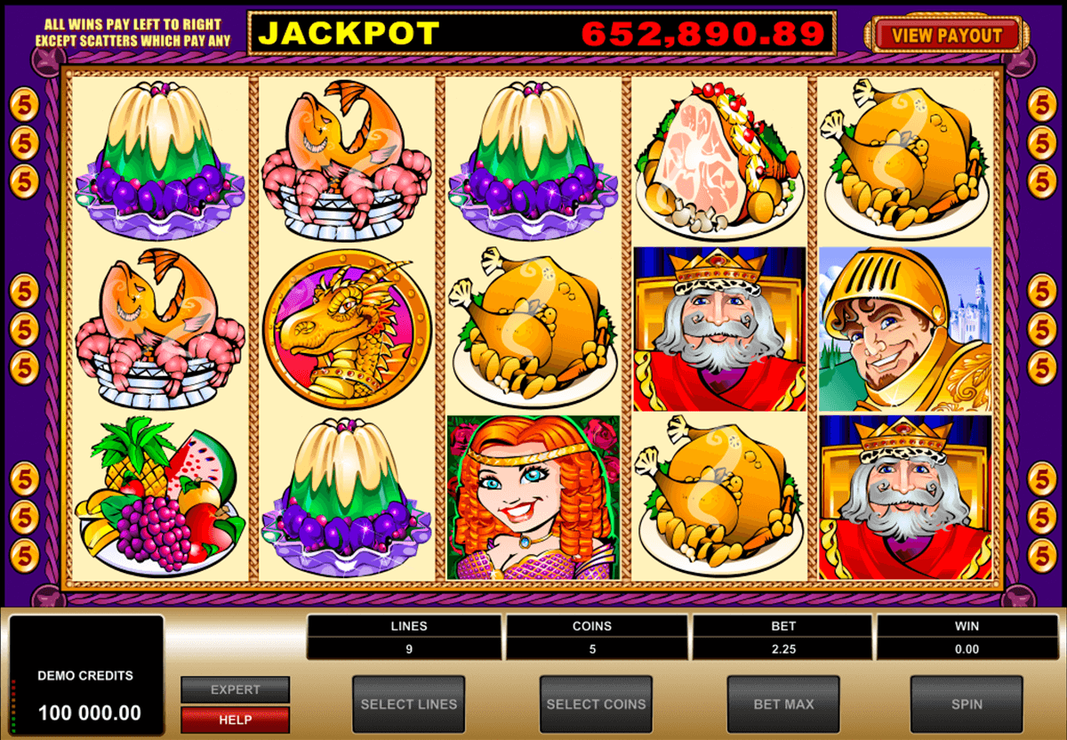 king cashalot microgaming casino gokkasten