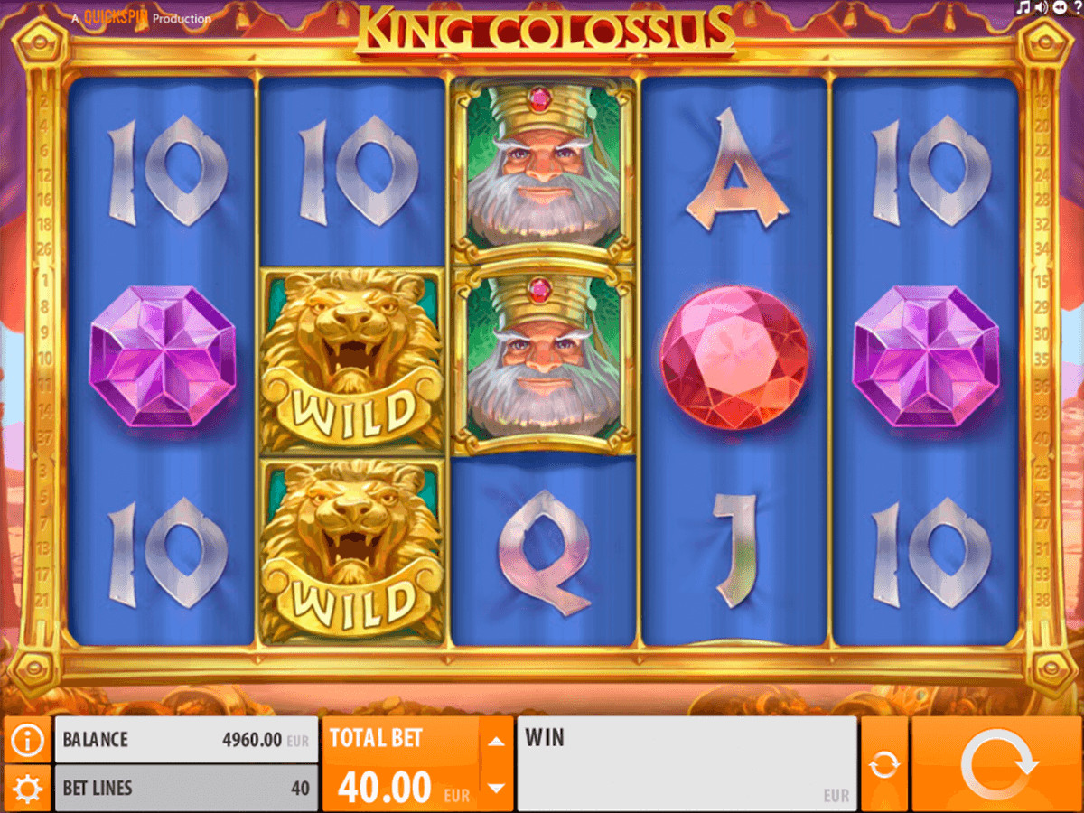 king colossus quickspin casino gokkasten