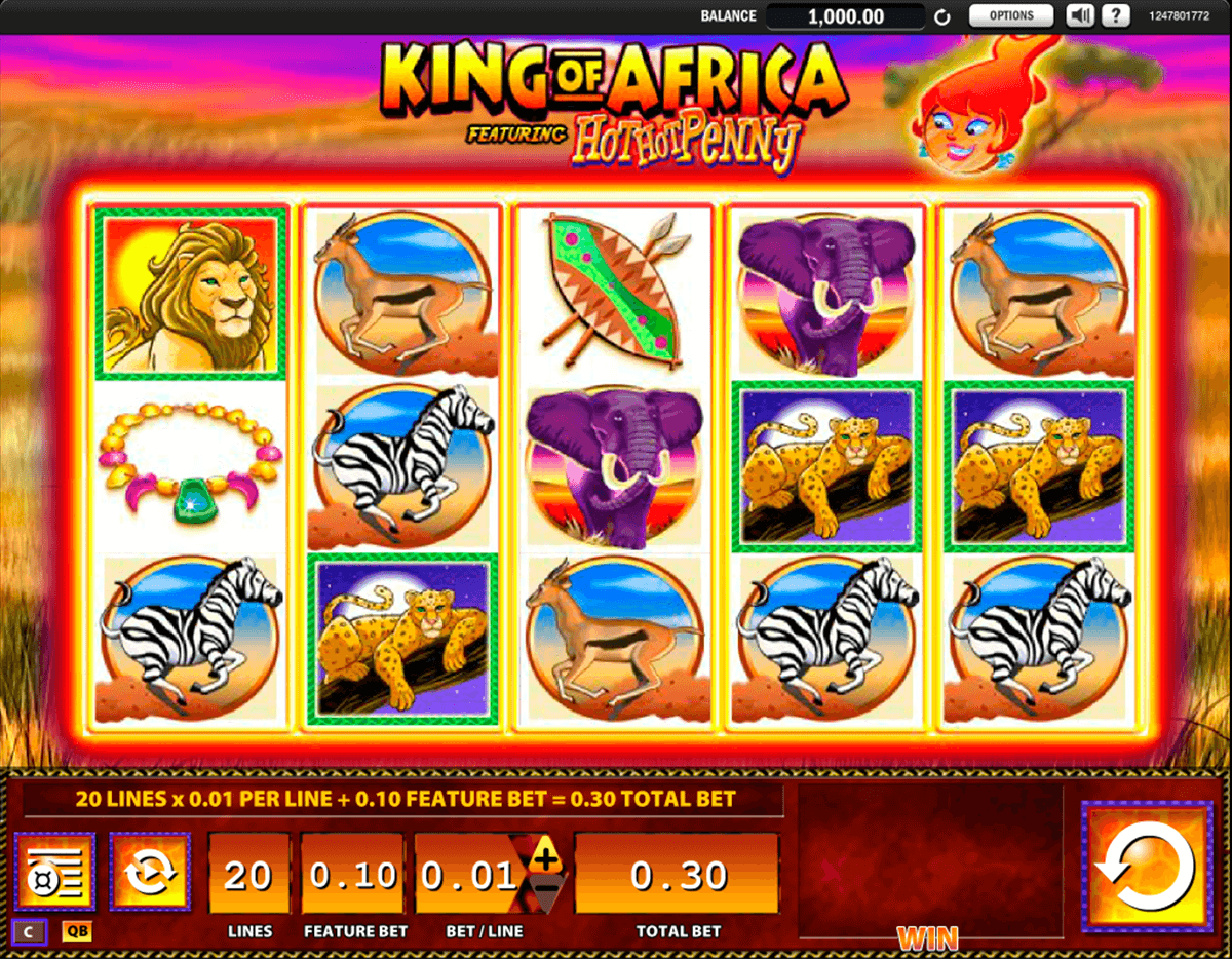 king of africa wms casino gokkasten