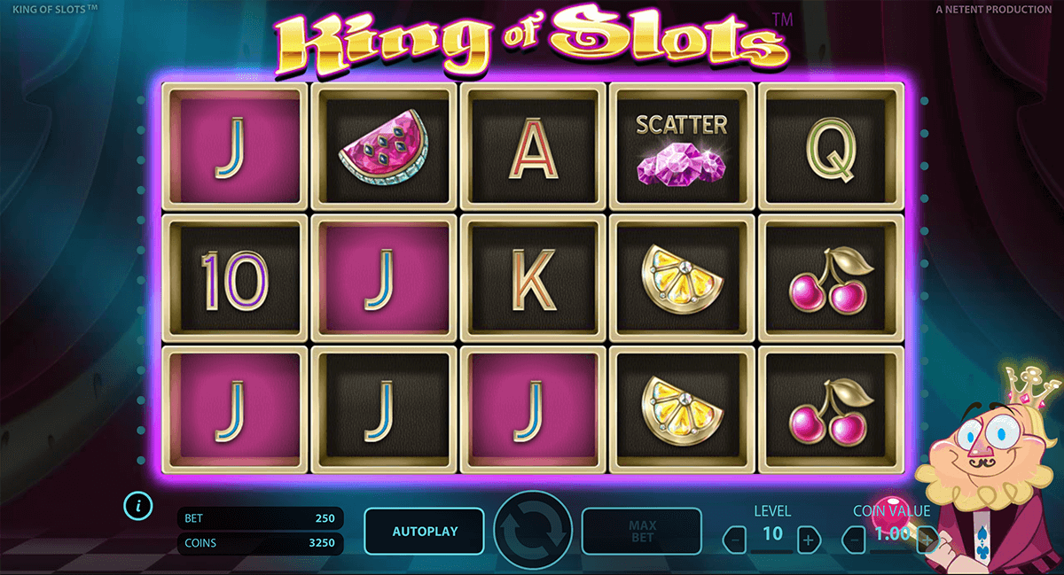 king of slots netent casino gokkasten