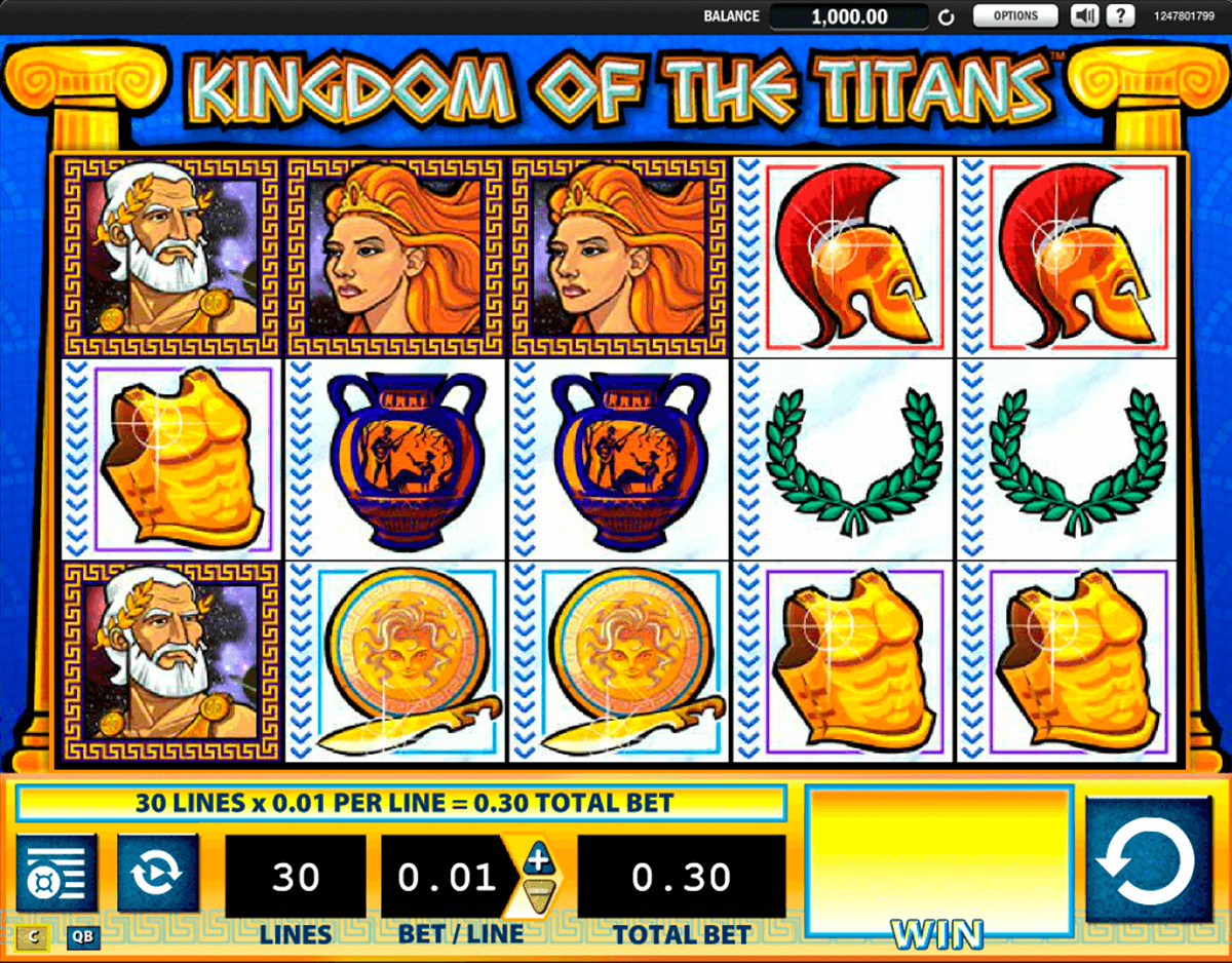 kingdom of the titans wms casino gokkasten
