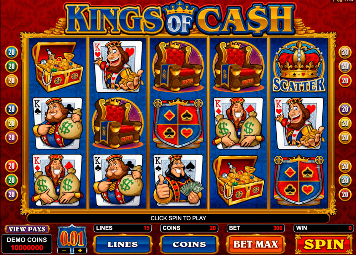 kings of cash microgaming casino gokkasten