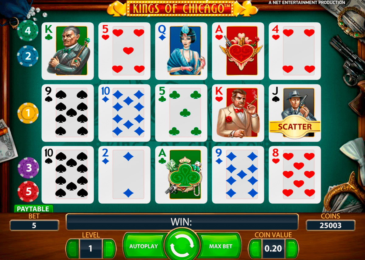 kings of chicago netent casino gokkasten