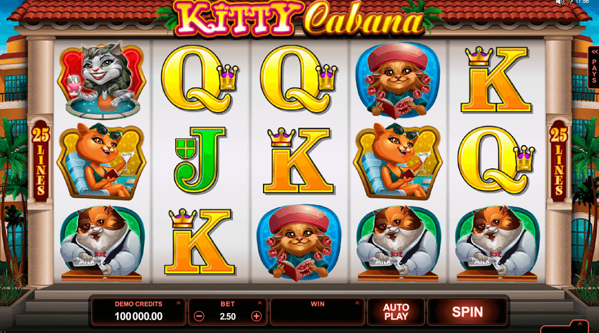 kitty cabana microgaming casino gokkasten