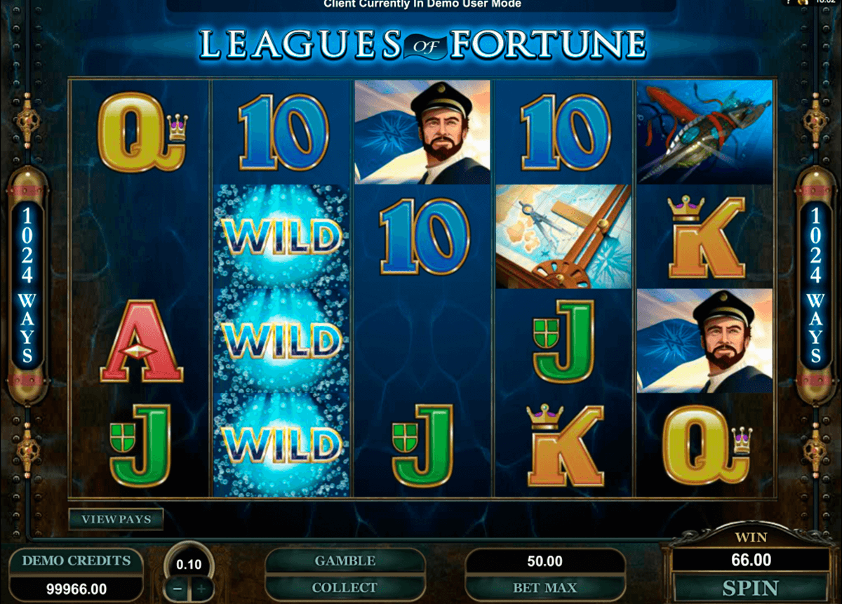 leagues of fortune microgaming casino gokkasten