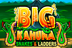 logo big kahuna snakes and ladders microgaming gokkast spelen