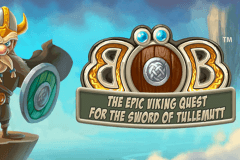 logo bob the epic viking quest netent gokkast spelen