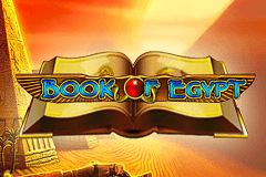 logo book of egypt deluxe novomatic gokkast spelen