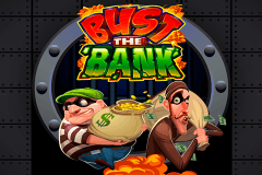 logo bust the bank microgaming gokkast spelen