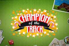 logo champion of the track netent gokkast spelen