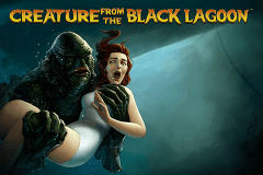 logo creature from the black lagoon netent gokkast spelen