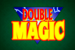 logo double magic microgaming gokkast spelen
