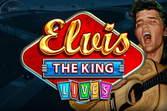 logo elvis the king lives wms gokkast spelen