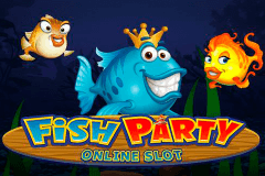 logo fish party microgaming gokkast spelen