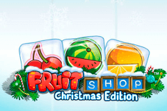 logo fruit shop christmas edition netent gokkast spelen