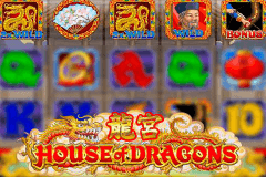 logo house of dragons microgaming gokkast spelen
