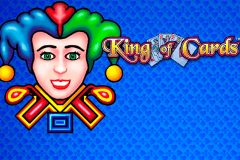 logo king of cards novomatic gokkast spelen