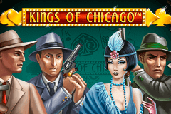 logo kings of chicago netent gokkast spelen