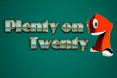 logo plenty on twenty novomatic gokkast spelen