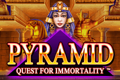 logo pyramid quest for immortality netent gokkast spelen