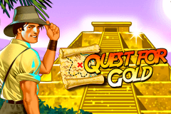 logo quest for gold novomatic gokkast spelen