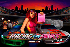 logo racing for pinks microgaming gokkast spelen