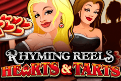 logo rhyming reels hearts and tarts microgaming gokkast spelen
