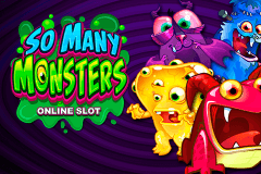 logo so many monsters microgaming gokkast spelen