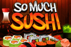 logo so much sushi microgaming gokkast spelen