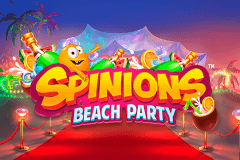 logo spinions beach party quickspin gokkast spelen