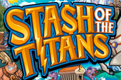 logo stash of the titans microgaming gokkast spelen
