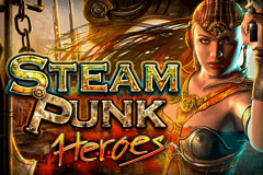 logo steam punk heroes microgaming gokkast spelen