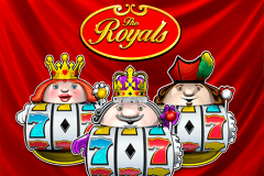logo the royals novomatic gokkast spelen