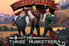 logo the three musketeers quickspin gokkast spelen