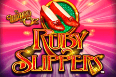 logo the wizard of oz ruby slippers wms gokkast spelen