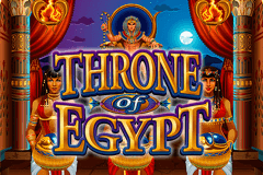 logo throne of egypt microgaming gokkast spelen